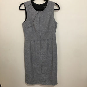 BANANA REPUBLIC herringbone sheath dress
